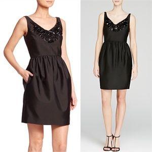 KATE SPADE NEW YORK V-Neck Knee-Length Dress
